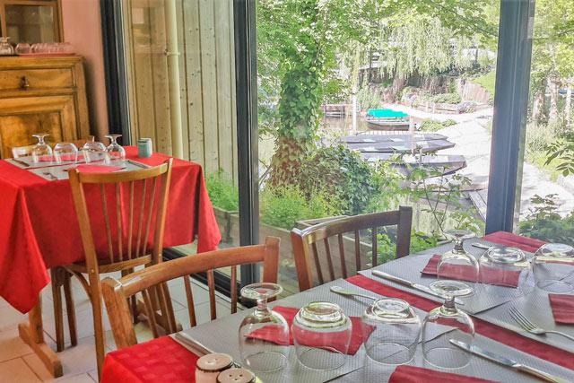 restaurant du camping Le Lidon-marais-poitevin